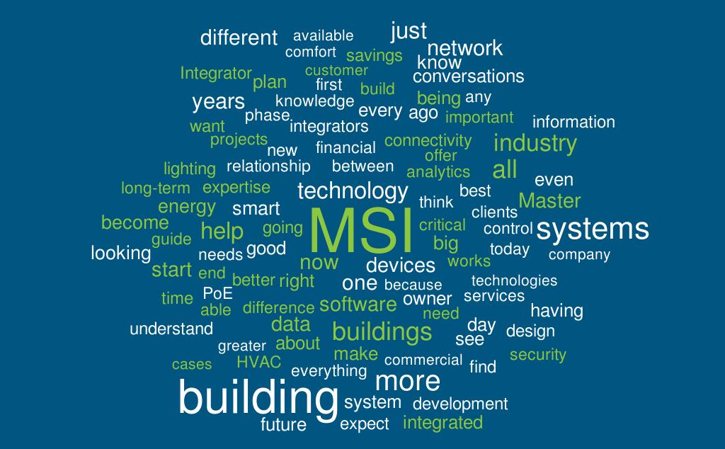Master Systems Integrator MSI